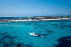 De Ibiza: excursão de barco de um dia a Formentera