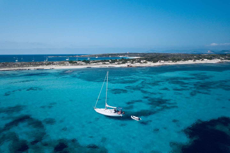 Von Ibiza: Ganztägige Segeltour nach Formentera