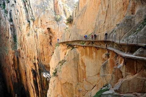 Desde Málaga: Caminito del Rey Tour en grupo pequeño con picnic