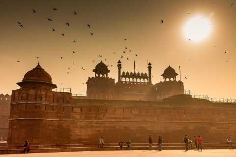 New Delhi: Red Fort Ticket with Optional Guide & Pickup