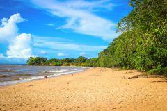 Belém: Viagem à praia no Rio Ilha do Mosqueiro com almoço