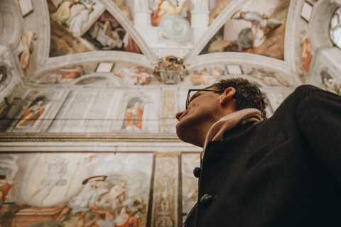 Roma: Cappella Sistina e tour virtuale di Michelangelo con guida