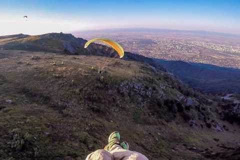 Paragliding Sofia from Above