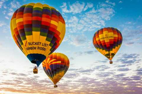 Phoenix: Hot Air Balloon Half-Day Adventure