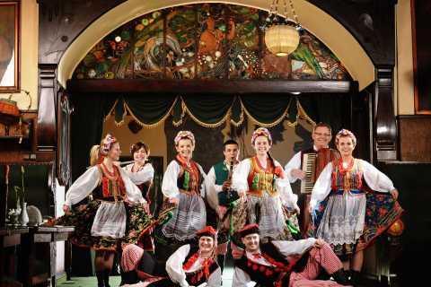 Cracóvia: Folk Show e jantar de 3 pratos no Jama Michalika Café