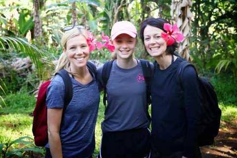 Maui: Pienryhmän vesiputousretki ja vetoketju lounaalla