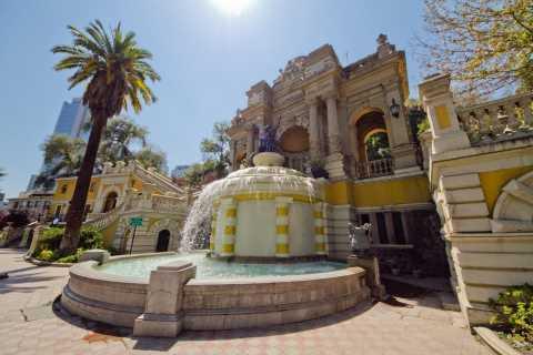 Santiago: Tour Destaques da Cidade c/ Concha y Toro Opcional