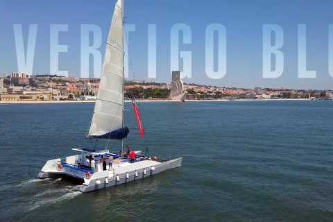 Lisbon: Private Catamaran Charter for up to 18-People
