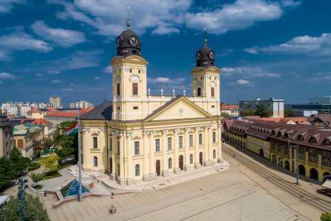 Debrecen: toegangsbewijs voor de hervormde grote kerk