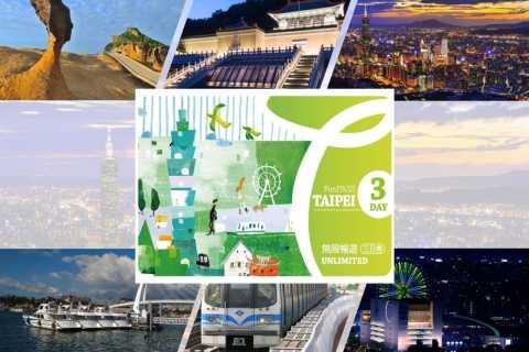 Taipei Fun Pass per 16 attrazioni e tour