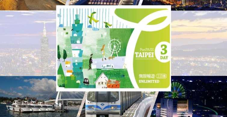 Taipei Fun Pass to 16 Attractions and Tours