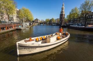Amsterdam: Private Grillkreuzfahrt mit Getränken