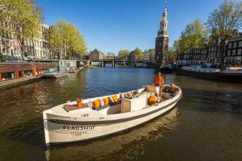 Amsterdam: Private BBQ Cruise with Drinks