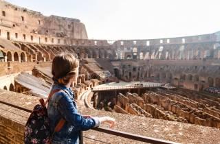 Kolosseum & Antiken Rom Arena-Boden-Tour ohne Anstehen