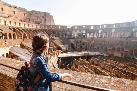 Excursão sem fila ao Coliseu e Roma Antiga Arena