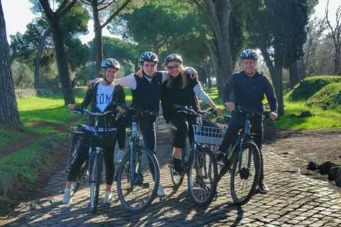 Rome: Appian Way Catacombs and Aqueducts Private Bike Tour