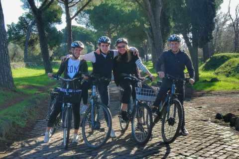 Roma: Excursão particular de bicicleta às catacumbas e aquedutos da Via Ápia