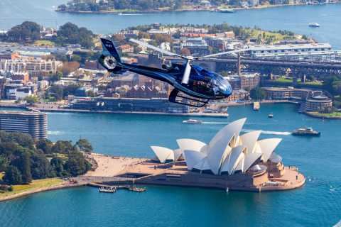 Sydney Harbour & Beaches 20-Minute Helicopter + Transfers