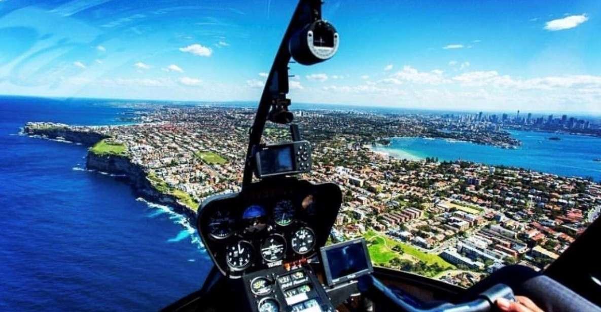 Sydney Harbour: 20-Minute Coast & Skyline Helicopter flight