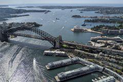 Porto de Sydney: voo de 20 minutos com o Coast & Skyline Helicopter