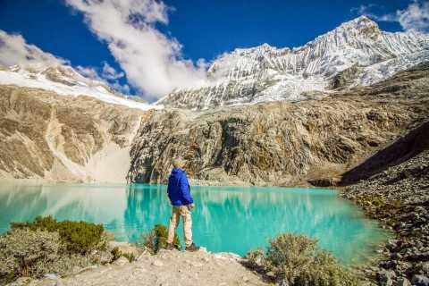 Huaraz: caminata de 3 horas a Laguna 69 con almuerzo opcional