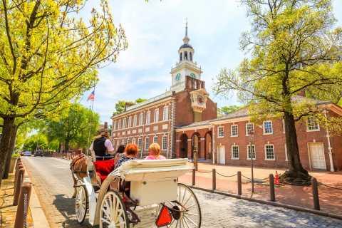 Filadelfia: tour in carrozza trainata da cavalli nella storica città vecchia