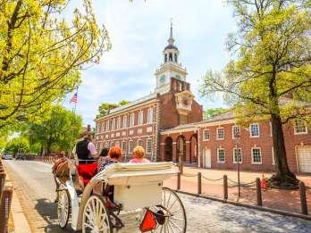 Philadelphia: Pferdekutschenfahrt durch die historische Altstadt