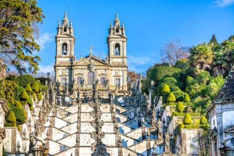 Braga and Guimarães Full Day Tour with Lunch from Porto