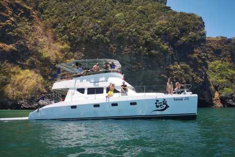 Krabi Islands: Exclusive Power Catamaran Sightseeing Tour