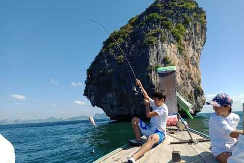 Ko Lanta: Private Angel- und Schnorcheltour mit dem langen Schwanz
