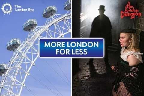 London Eye og London Dungeon: Combo Ticket