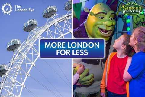 DreamWorks Shreks Abenteuer und London Eye: Kombiticket