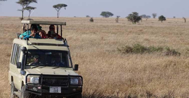 Arusha: 3-Day Safari to Tarangire, Ngorongoro & Lake Manyara
