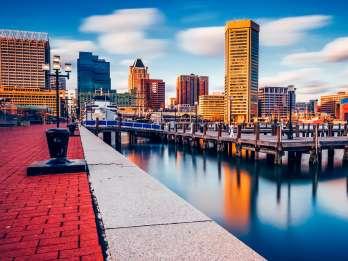 Baltimore: Geführte Stadtrundfahrt mit Mittagessen