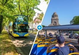 достопримечательности Лейпциг - Лейпциг: билет на автобус Hop-on / Hop-off с 13 остановками