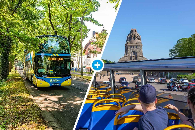 Leipzig: Hop-On/Hop-Off-Busticket mit 13 Haltestellen
