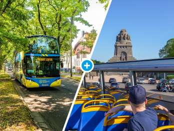 Leipzig: Hop-On/Hop-Off-Busticket mit 13 Haltestellen