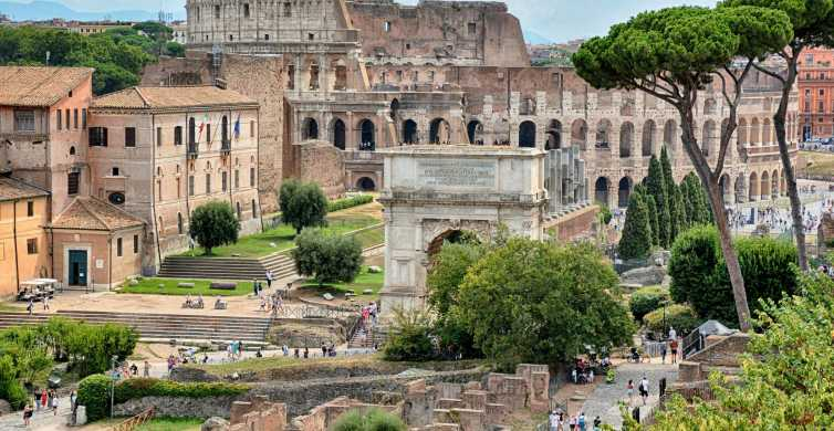 Rome: Colosseum, Palatine Hill, and Roman Forum Tour