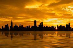 Chicago: cruzeiro romântico ao pôr do sol de 1,5 horas
