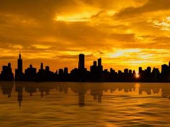 Chicago: 1,5-stündige romantische Sonnenuntergangskreuzfahrt