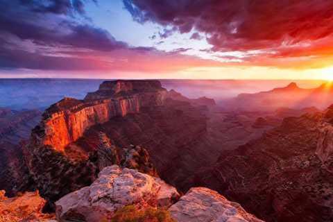 Sedona: Grand Canyon Sunset Tour met diner