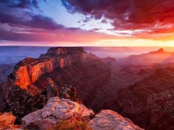 Sedona: Grand Canyon Sunset Tour mit Abendessen