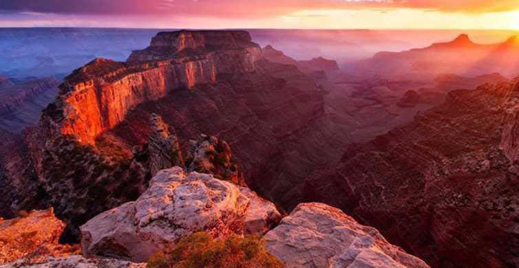 Sedona: Grand Canyon Sunset Tour with Dinner