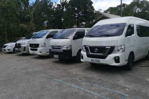 Bohol: Vehicle Charter with Professional Driver