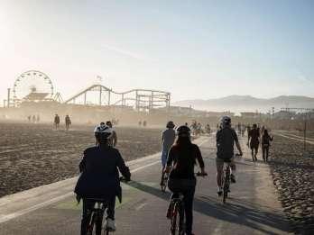 Santa Monica: Ganztägiger Fahrradverleih