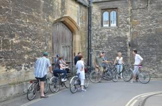 Oxford: City Bike Tour mit Studentenführer