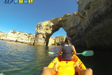 Armação de Pêra: 2-Hour Wild Beaches and Caves Kayak Tour