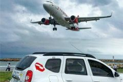 San Andres: transporte compartilhado de ida e volta para o aeroporto