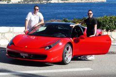 Mônaco: Passeio de Ferrari de 30 ou 60 Minutos