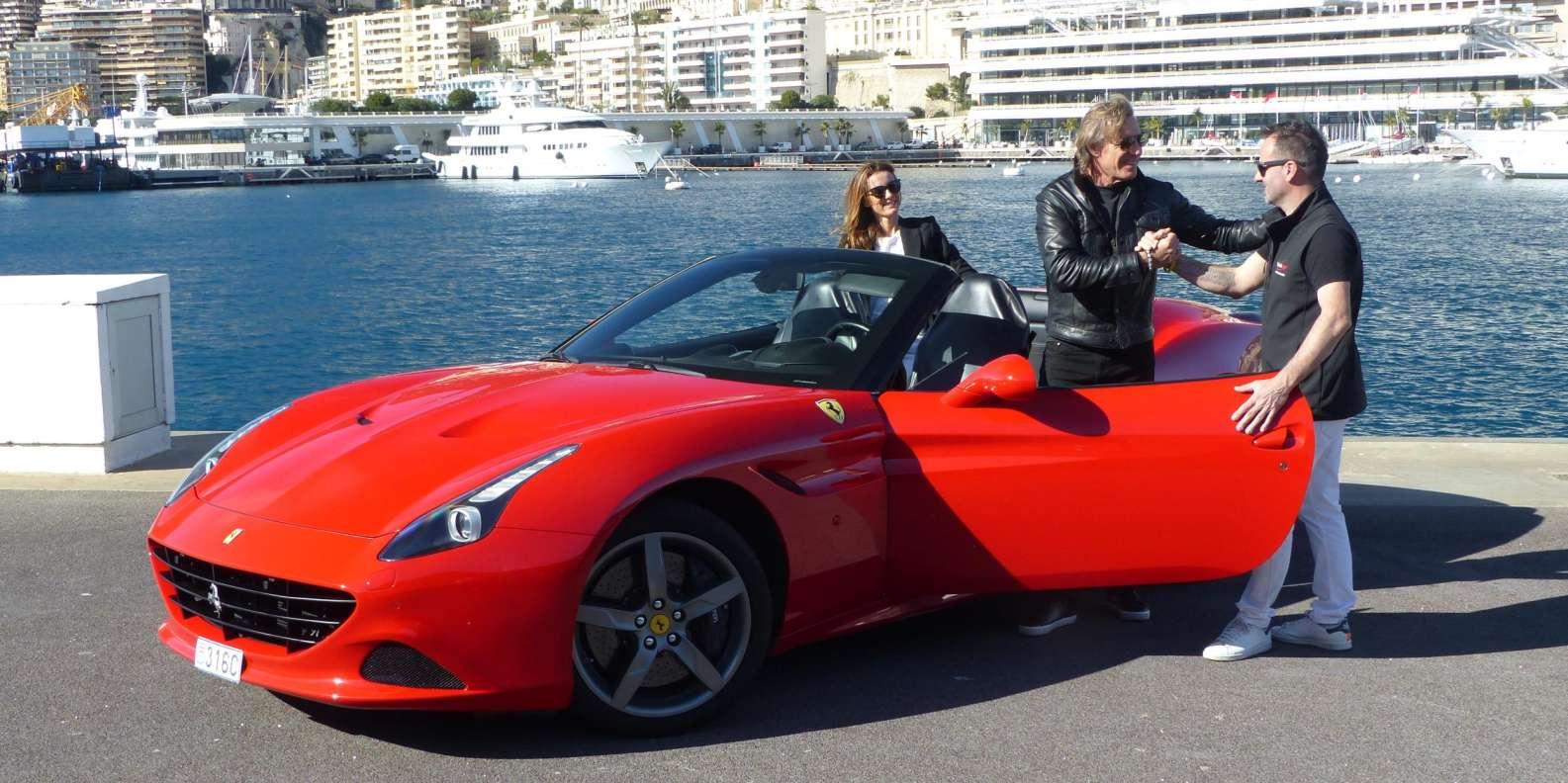 Monaco 30 Or 60 Minute Ferrari California T Experience Getyourguide